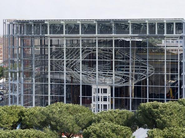 La Nuvola, Rome's new conference centre