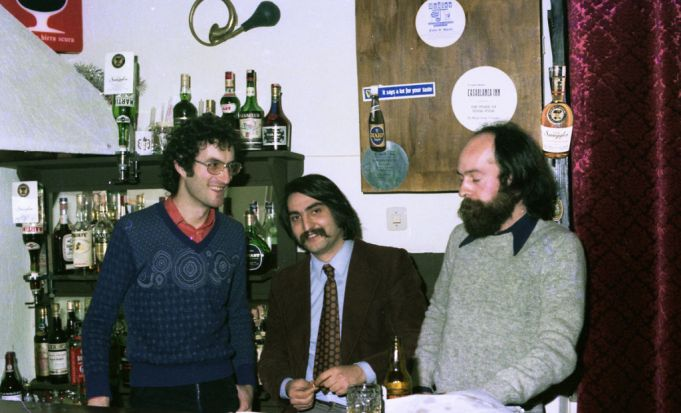 Fiddler's Elbow founders Orazio Cancanelli, Gino Bottigliero and Antonio Shorthose.