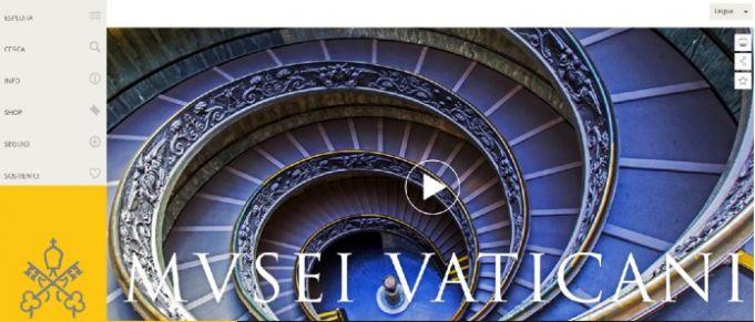 New Vatican Museums website