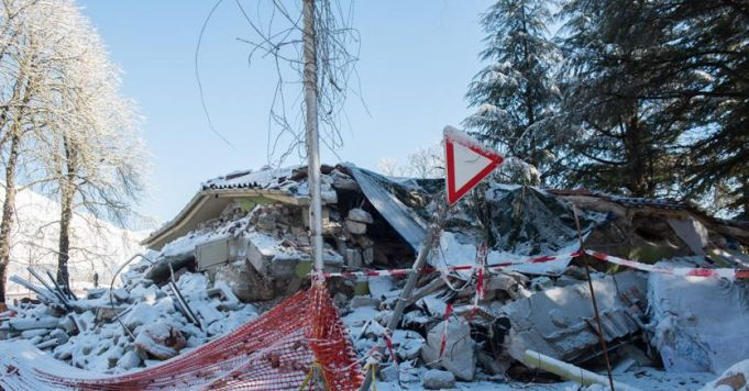 Earthquakes continue in central Italy