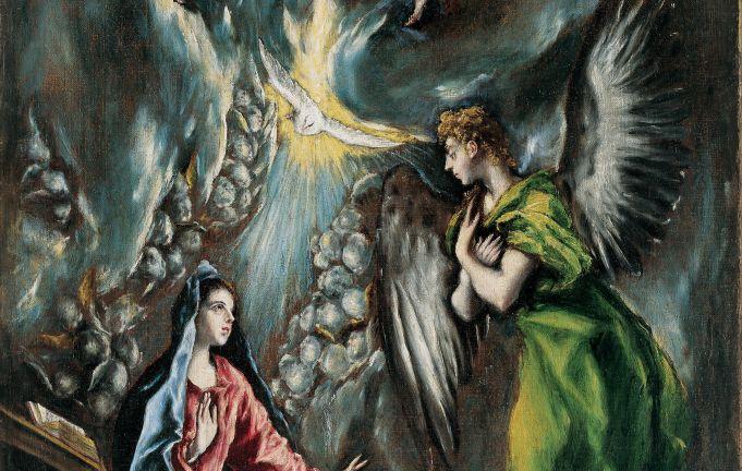 El Greco's Annunciation in Rome