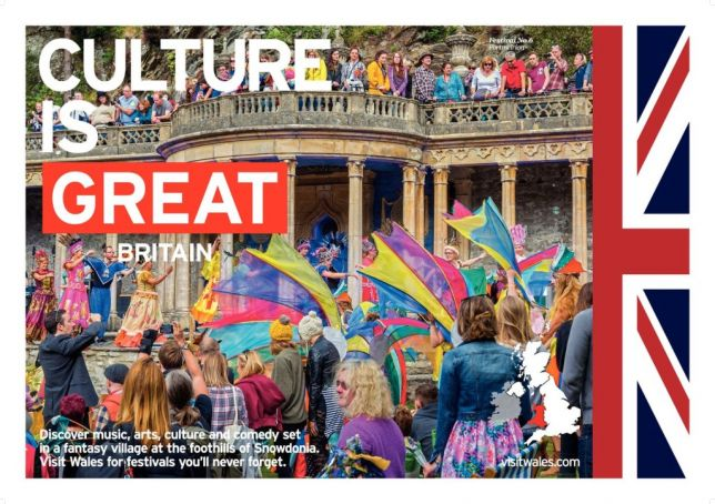 Britain's Culture is Great campaign will include a number of events in Italy during 2017.