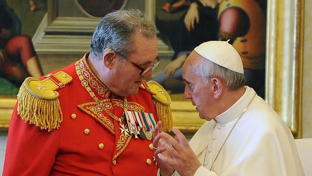 Knights of Malta head quits over Vatican condom row