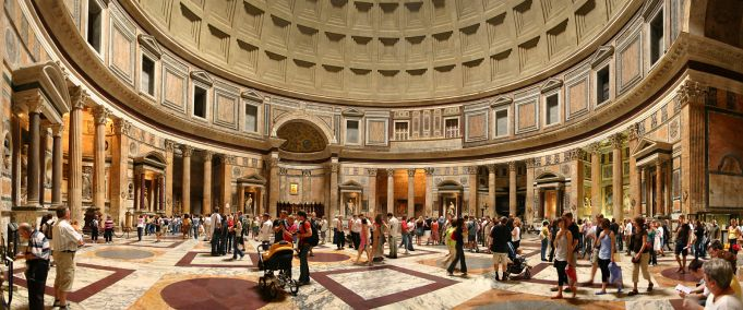 Entry fee mooted for Rome's Pantheon