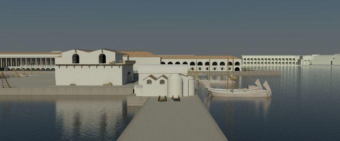 Rome's Mediterranean Portus Project