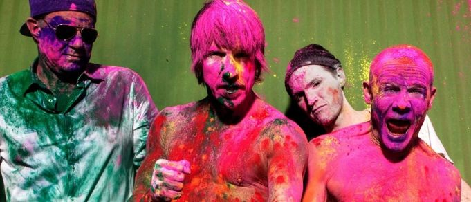 Red Hot Chili Peppers in Rome