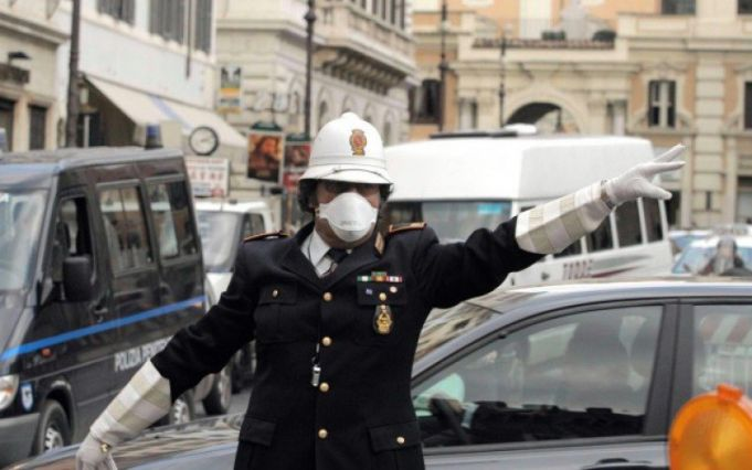 Anti-smog traffic measures in Rome