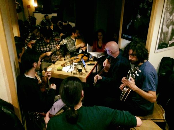 Old-Time and Bluegrass sessions in Rome