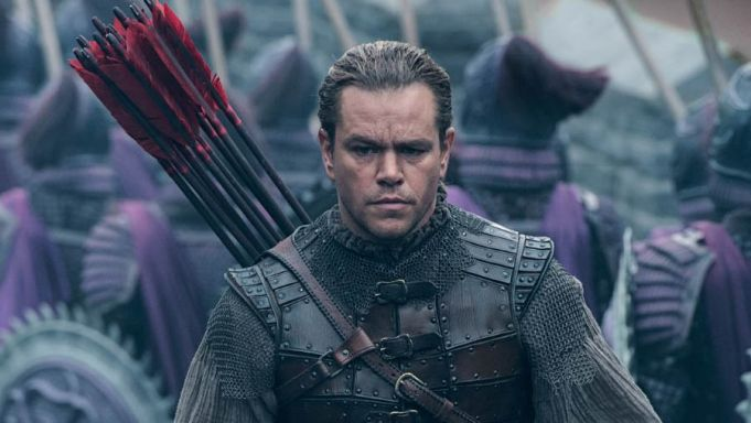 The Great Wall showing in Rome cinemas