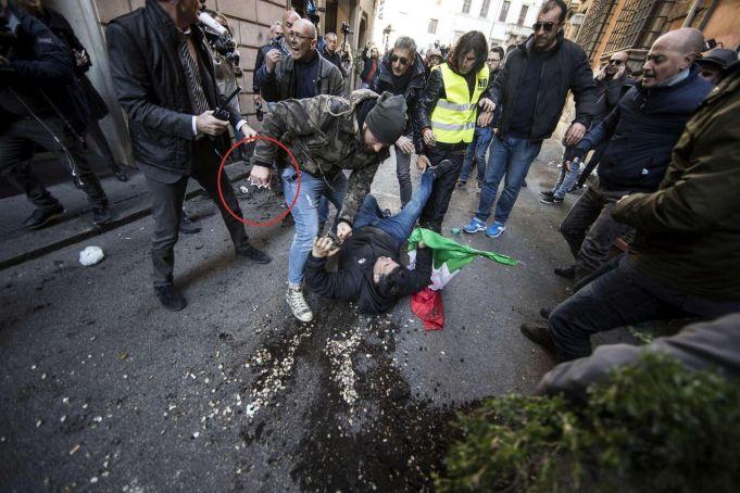 Rome taxi strike ends after violent protests