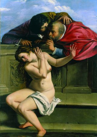 Susanna and the Elders was a remarkable debut for the 17-year-old Gentileschi.