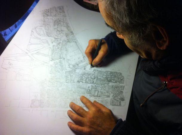 Maestro Camerini at work