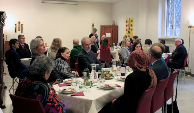 The Lay Centre inaugurated its 30th year with a lunch for ambassadors to the Holy See.
