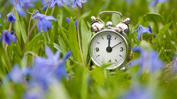 Clocks spring forward on 26 March