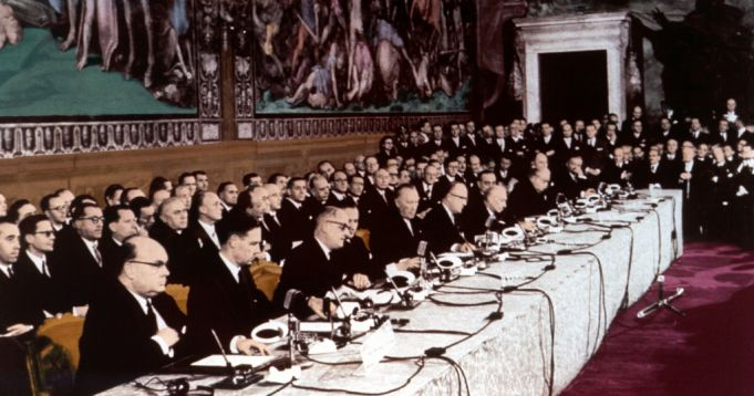 Treaty of Rome, 25 March 1957