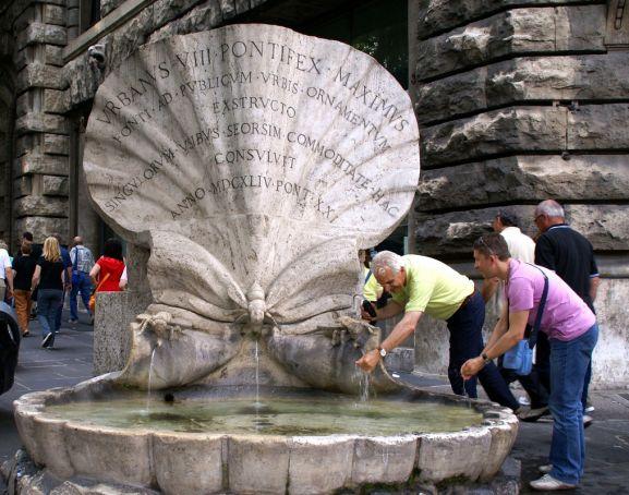 Dutch patrons restore Rome fountains