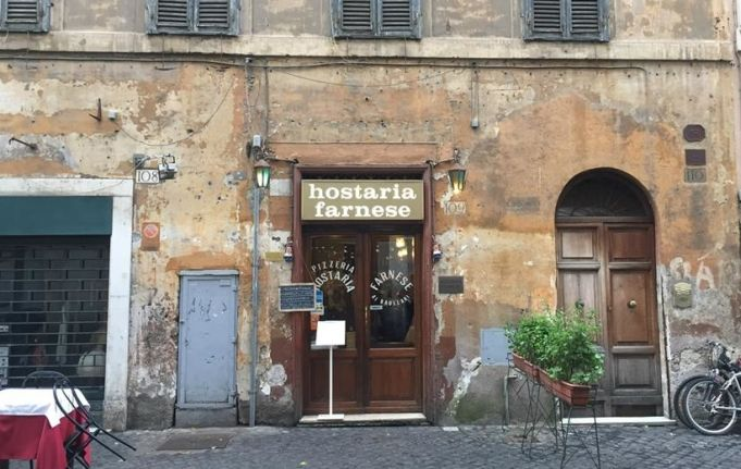Hostaria Farnese in Rome