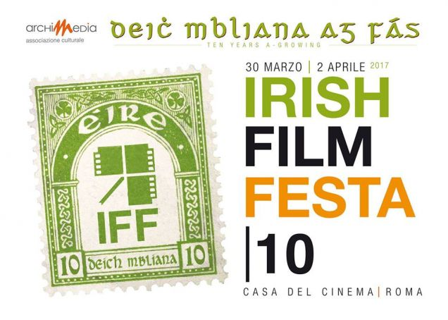 IRISH FILM FESTA marks ten years in Rome