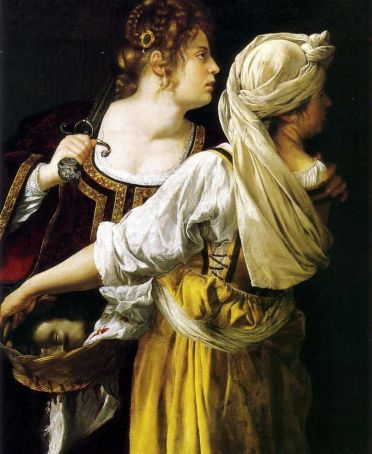 Judith and her maidservant was painted a year after Gentileschi's rape trial.