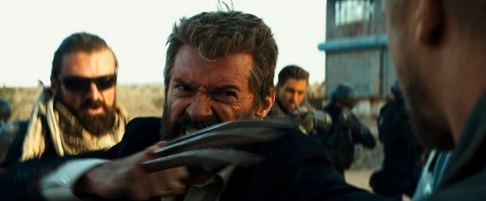 Logan showing in Rome cinemas