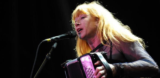 Loreena McKennitt performs in Rome