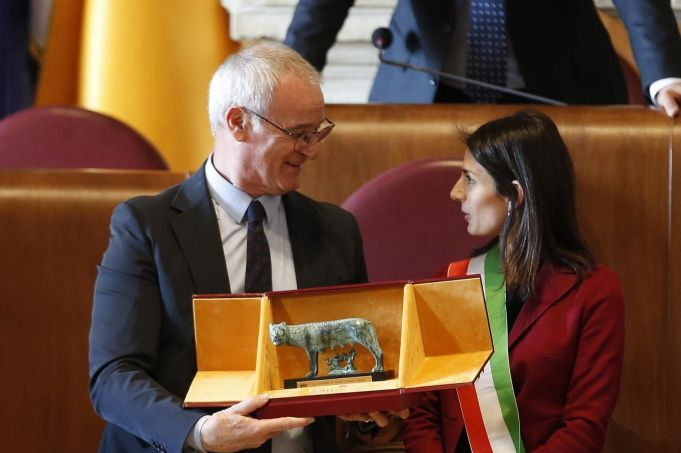 Rome honours Claudio Ranieri