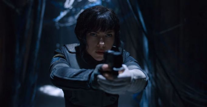 Ghost in the Shell showing in Rome cinemas