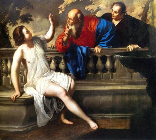 The Palazzo Braschi exhibition concludes with a later version of Susanna and the Elders, painted in 1652.