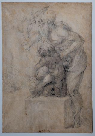 Rome displays secret Michelangelo drawing