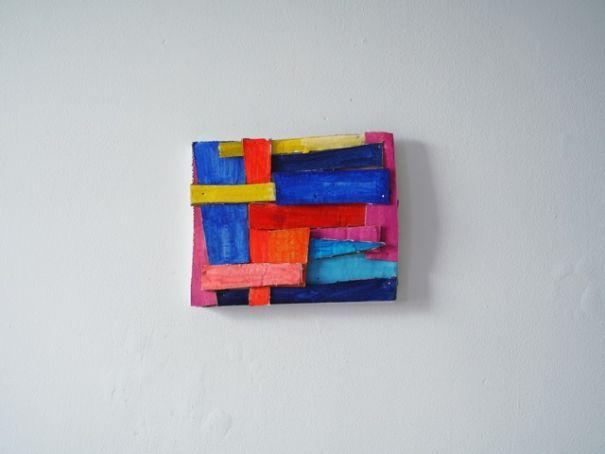Nina Bovasso: Intrecci di Colore
