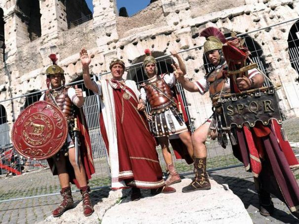 Centurions return to Rome