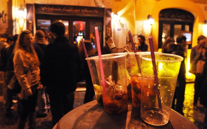 Locals say Trastevere too noisy at night