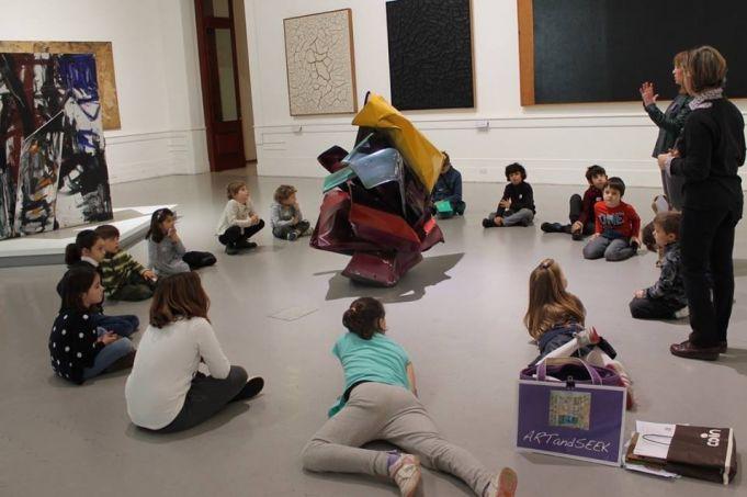 ARTandSEEK cultural workshops and museum visits