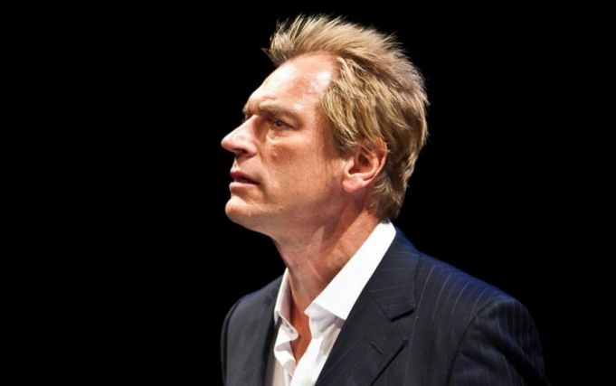 Julian Sands celebrates Harold Pinter in Rome