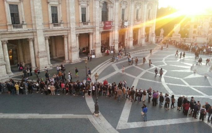 Museum Night in Rome on 20 May