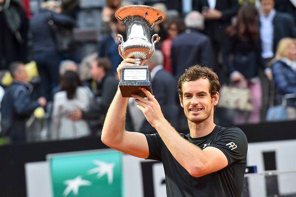 Andy Murray beat Novak Djokovic in last year's final.