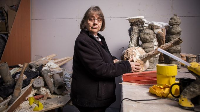 Phyllida Barlow represents the UK