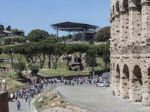Controversy over rock musical in Roman Forum