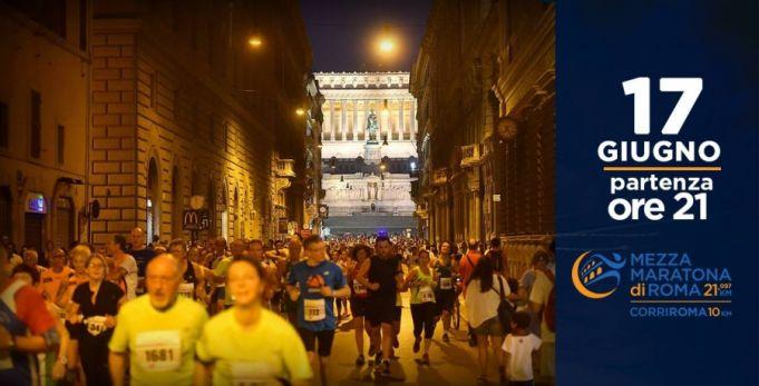 New Rome Half Marathon on 17 June