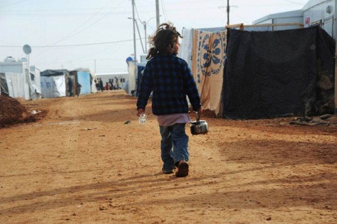 Photographs by Agnes Montanari and her students at the refugee camp