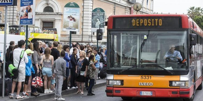 Public transport strike in Rome on 11 May