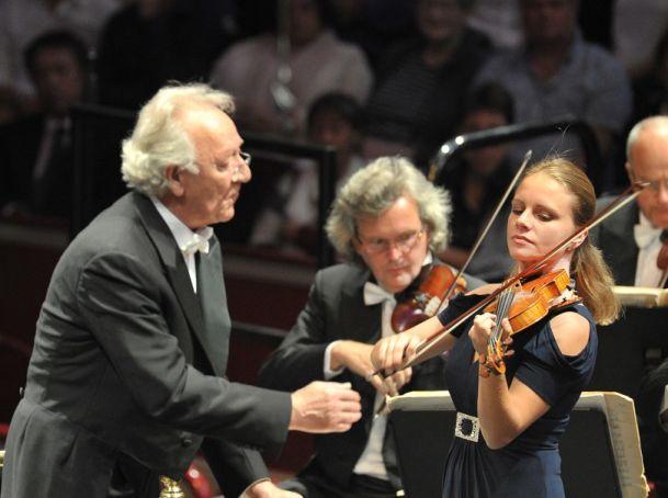 Yrui Termirkanov and Julia Fischer