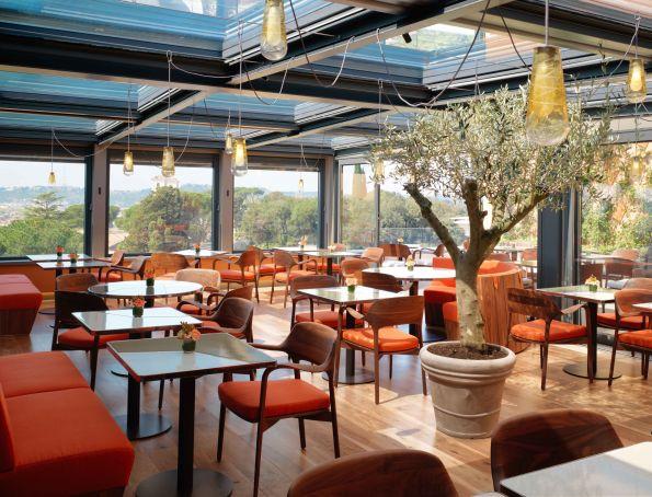 Salad Bar at Hotel Eden