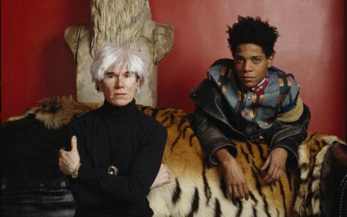 Basquiat and Warhol. Photo Lizzie Himmel.