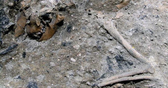 """""""Mini Pompeii"""" found during Rome Metro C works"""