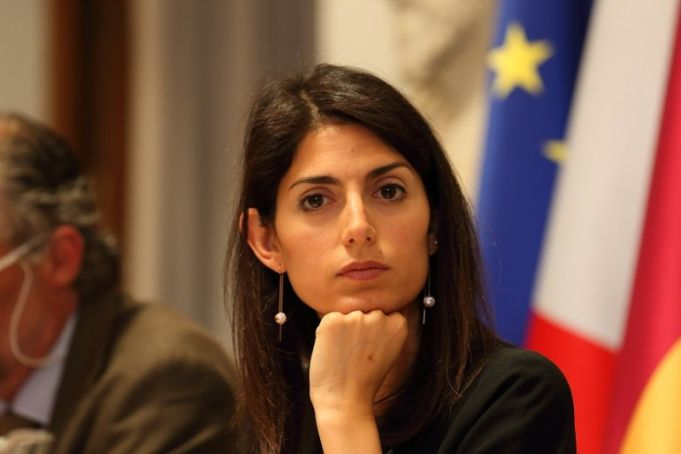 Rome mayor rates herself 7.5 for first year