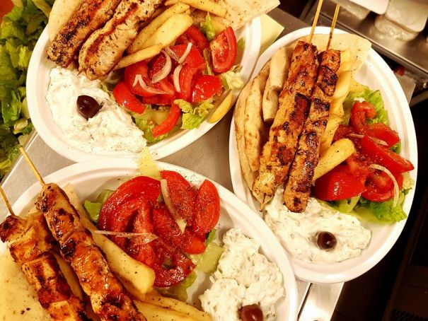 Elleniko Greek cuisine in Rome