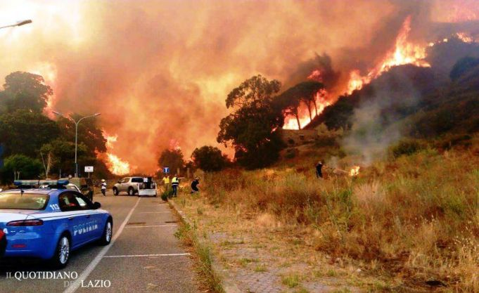 Lazio calls for state of emergency over wildfires