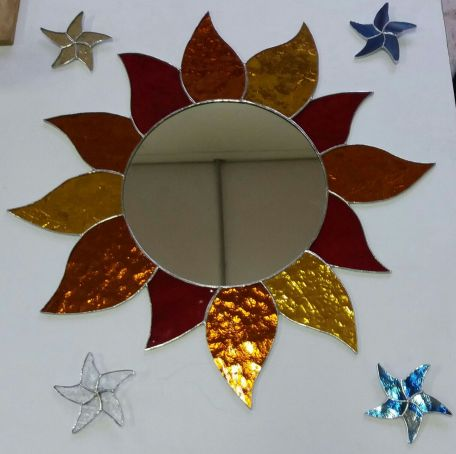 A mid summer stained glass course: July 13.