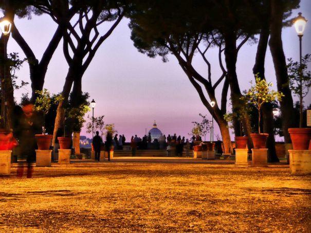 Open-air theatre in Rome's Giardini degli Aranci